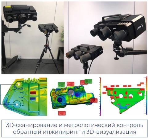 Кварк 3Д сканирование 2